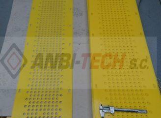 Wycinanie CNC wycinanie detali z poliuretanu PU
