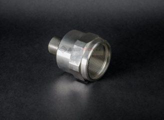 Toczenie CNC detale toczone i frezowane ze stali nierdzewnej INOX