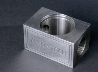 Frezowanie CNC detal frezowany nierdzewka 316L inox
