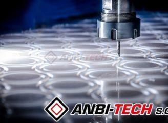 Frezowanie CNC detale z poliamidu