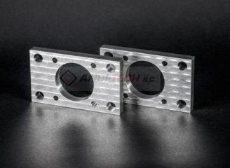 Frezowanie CNC detale frezowane z aluminium
