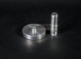 Toczenie CNC detale toczone z aluminium