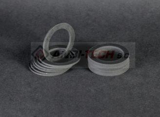 Wycinanie CNC wycinanie uszczelek z gumy silikonu poliuretanu vitonu