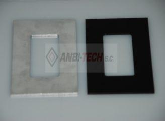 Frezowanie CNC Detale frezowanealuminiowe anodowane