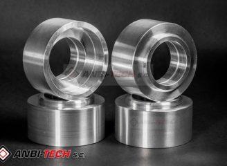 Detale toczone i frezowane z aluminium PA frezowanie i toczenie