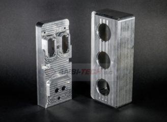 Frezowanie CNC detale frezowane z aluminium PA6