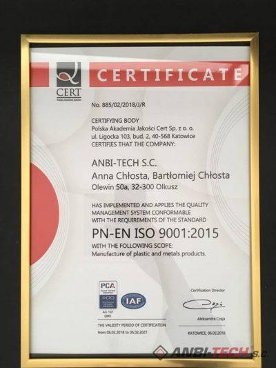 Polityka jakości ISO 2015